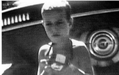 Jack as boy, with camera