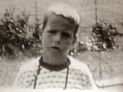 Jack as child from home movie