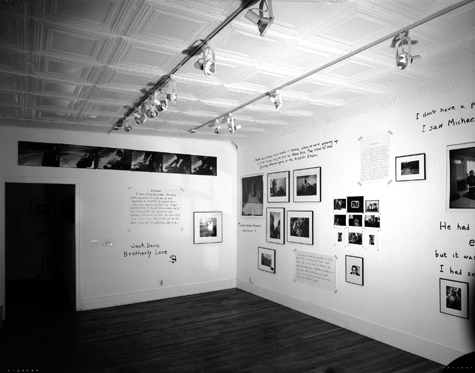 First wall of Brotherly Love photography show