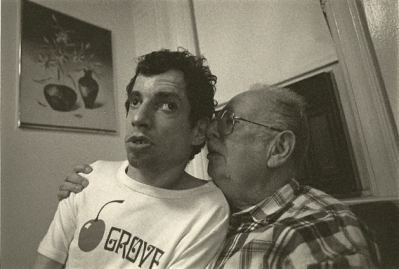 Photo of Dad and Mike: different version from 1997 Advocate article