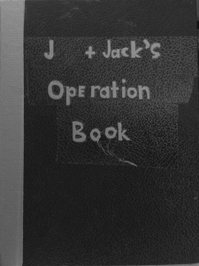 Front cover of Operation Book