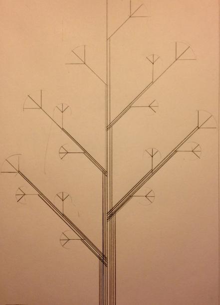 Pencil Drawing - Leaf Study 1