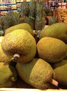 Photograph of Jack Fruit at Whole Foods