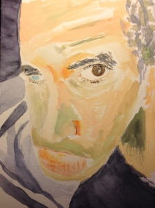 Watercolor Sketch - Portrait of Brother Mike 3