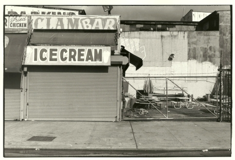 Photograph - Coney Island, Ice Cream Clam Bar