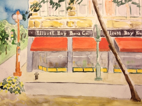 Watercolor Study - Elliott Bay Book Company