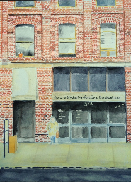 Watercolor Painting - Bowie & Weatherford Inc. Booksellers