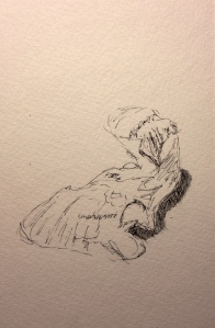 Sketch - My Oyster - Pen and Ink