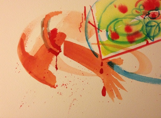 Watercolor - Abstract - Bile and Hurt