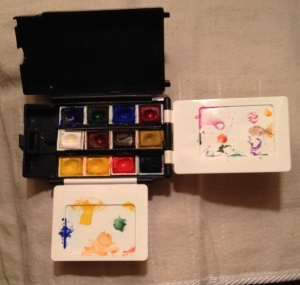 Photograph - Paint Box for Traveling