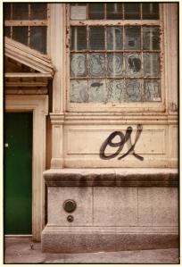 Photograph - Street Graffiti and Door