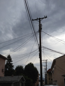 Digital Photo - Wires in Burbank