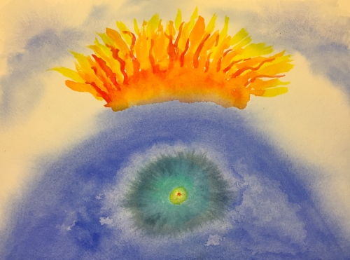 Watercolor: Abstract - Unidentified Feeling