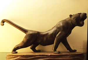 Photo: Jaguar Statue
