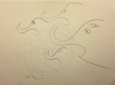 Sketch: Elephants in Fear