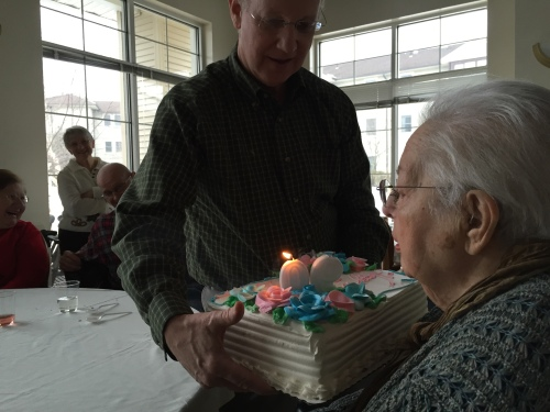 Photograph: Mom Blowing Out Candles