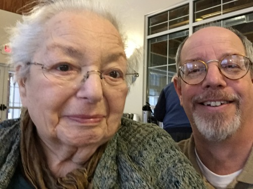 Photography: Mom and Me at 90th Birthday Party