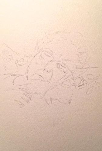 Sketch: Portrait of Mom