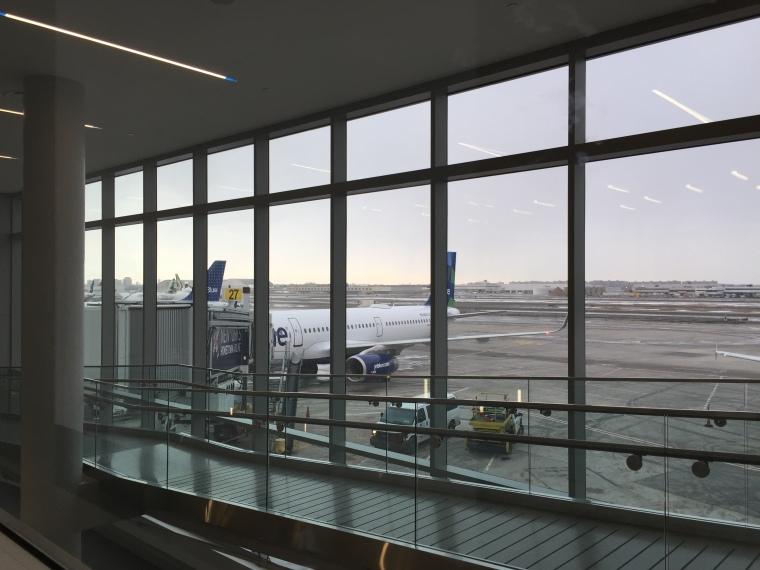 Photograph: At the Gate at JFK
