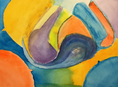 Watercolor: Fantasy on Impossible Petals and Pointy Leaves