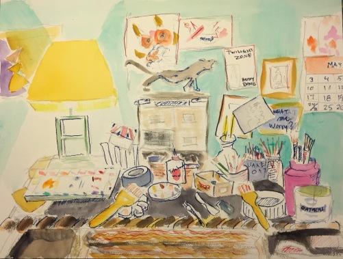 Watercolor: Pencil, Watercolor and Ink