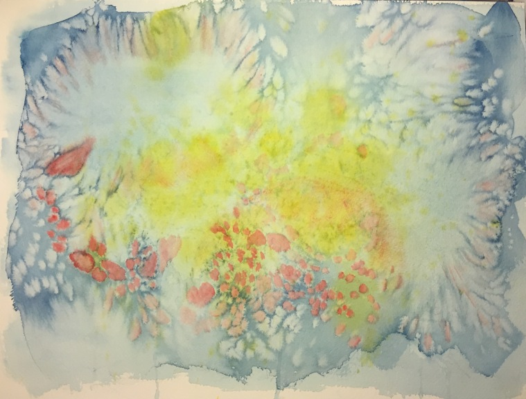 Watercolor: Abstract - Splatter Painting