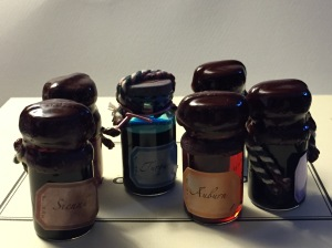 Photo: Ink Bottles
