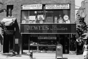 Photograph: Sutton Clock Shop - Lex & 60th