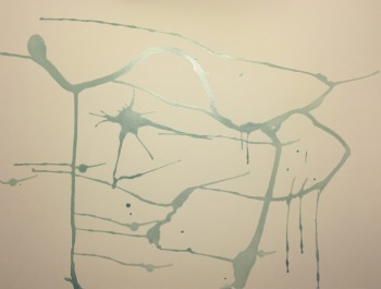 Watercolor: Drips and More Drips - Stage 1 - Latex Mask