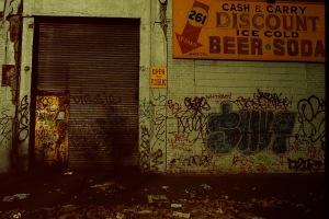 Photograph: Graffiti on Beer & Soda Building