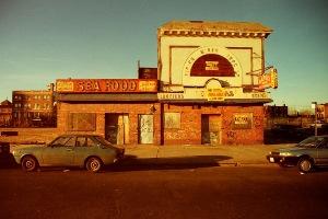 Photograph: Coney Island, Sea Food Storefront