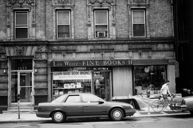 Photograph: Bookstore - Leo Weitz, Upper Lexington Ave, near 90th St