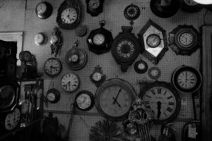 Photograph: Inside Sutton Clock Shop