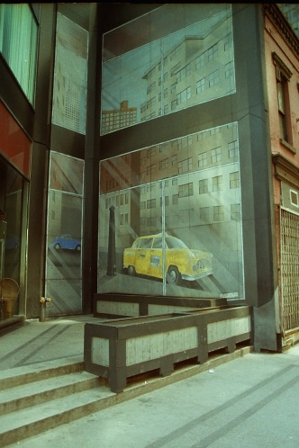 Photograph: Airbrushed Graffiti - trompe l'oeil
