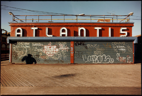 Photograph: Coney Island - Atlantis Graffiti