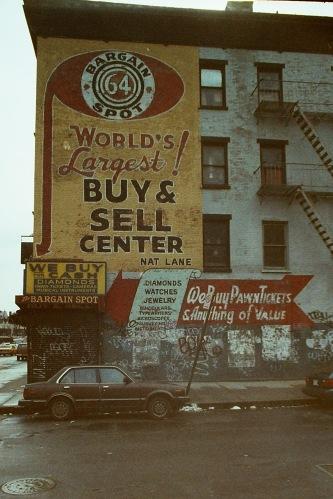 Photograph: Bargain Spot Graffiti Building