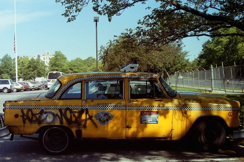 Photograph: Graffiti Cab Side View