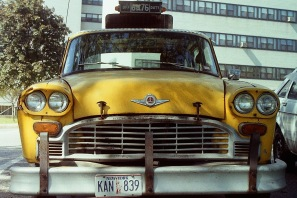 Photograph: Graffiti Cab - Front View