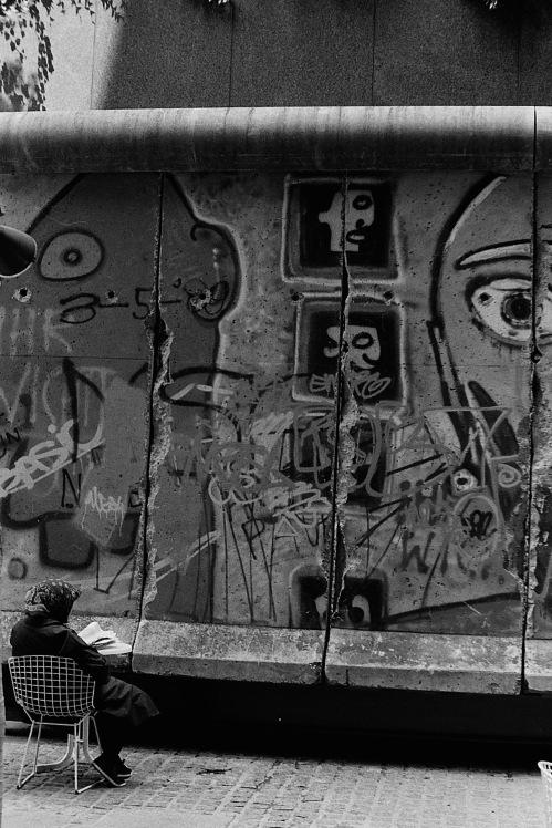 Photograph: Piece of Berlin Wall in Manhattan