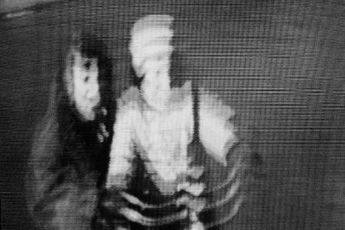 Photograph: Transcription of 1960s Film Image to Television Screen