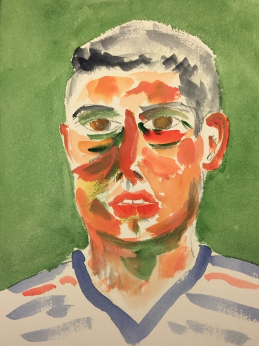 Watercolor: Portrait - Brother Michael