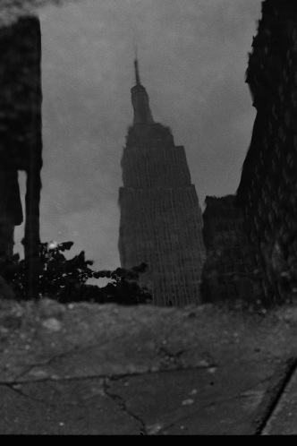Photograph: Empire State Building Puddle Picture