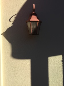 Photograph: Abstract Face; Representational Copy of Shadow