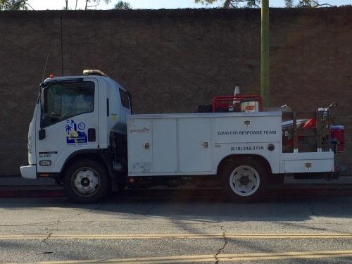 Photograph: Graffiti Response Team