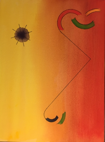 Watercolor: Abstract - Kandinsky-esque