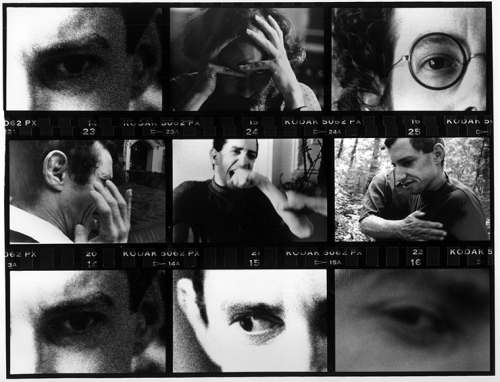 Photo Montage: Contact Sheet with Eyes