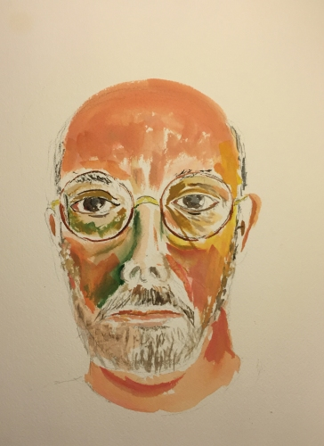 Watercolor: Self Portrait