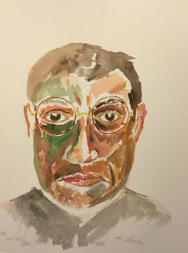 Watercolor: Composite Portrait Jack and Mike