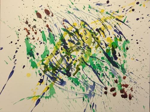 Watercolor: Abstract - Splatter