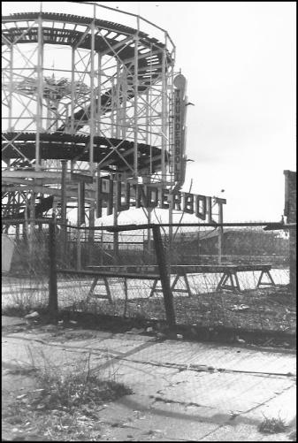 Photograph: Coney Island - Thunderbolt